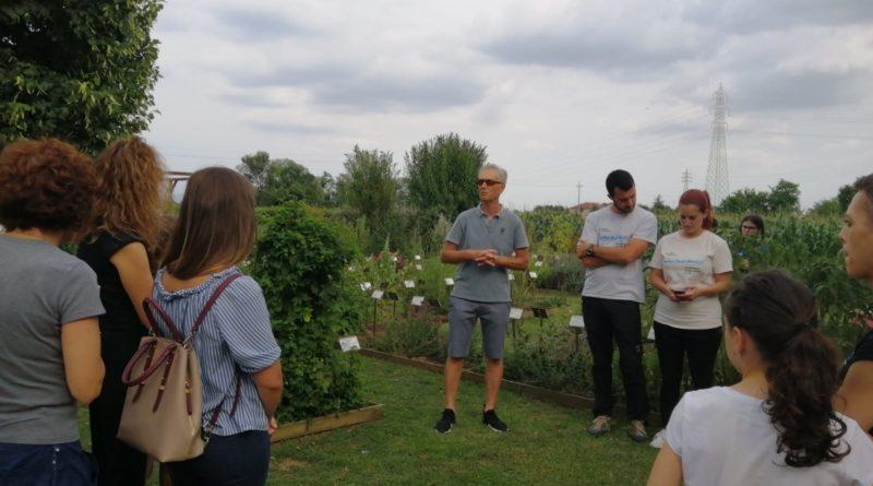 Presentazione dell'iniziativa insieme a Matteo e Rachele di Kaleidoscienza
