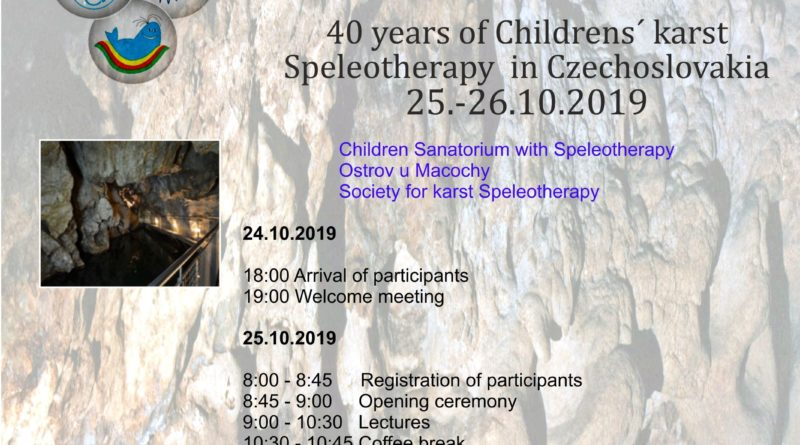 Congresso di speleoterapia a Brno