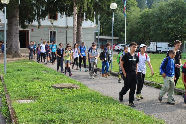 13 - Partenza per il monte Forno-Pec-Ofen