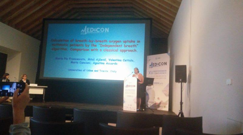 Studio ALPI al congresso internazionale Medicon di Coimbra
