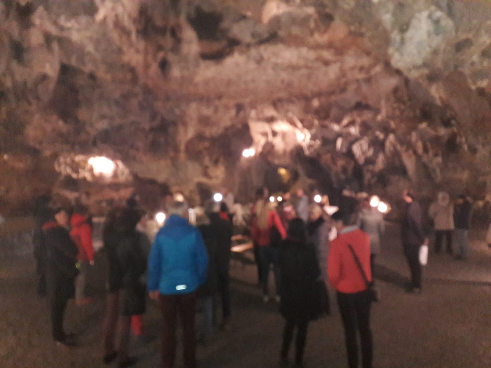 La visita alle grotte di Ostrov u Macochy