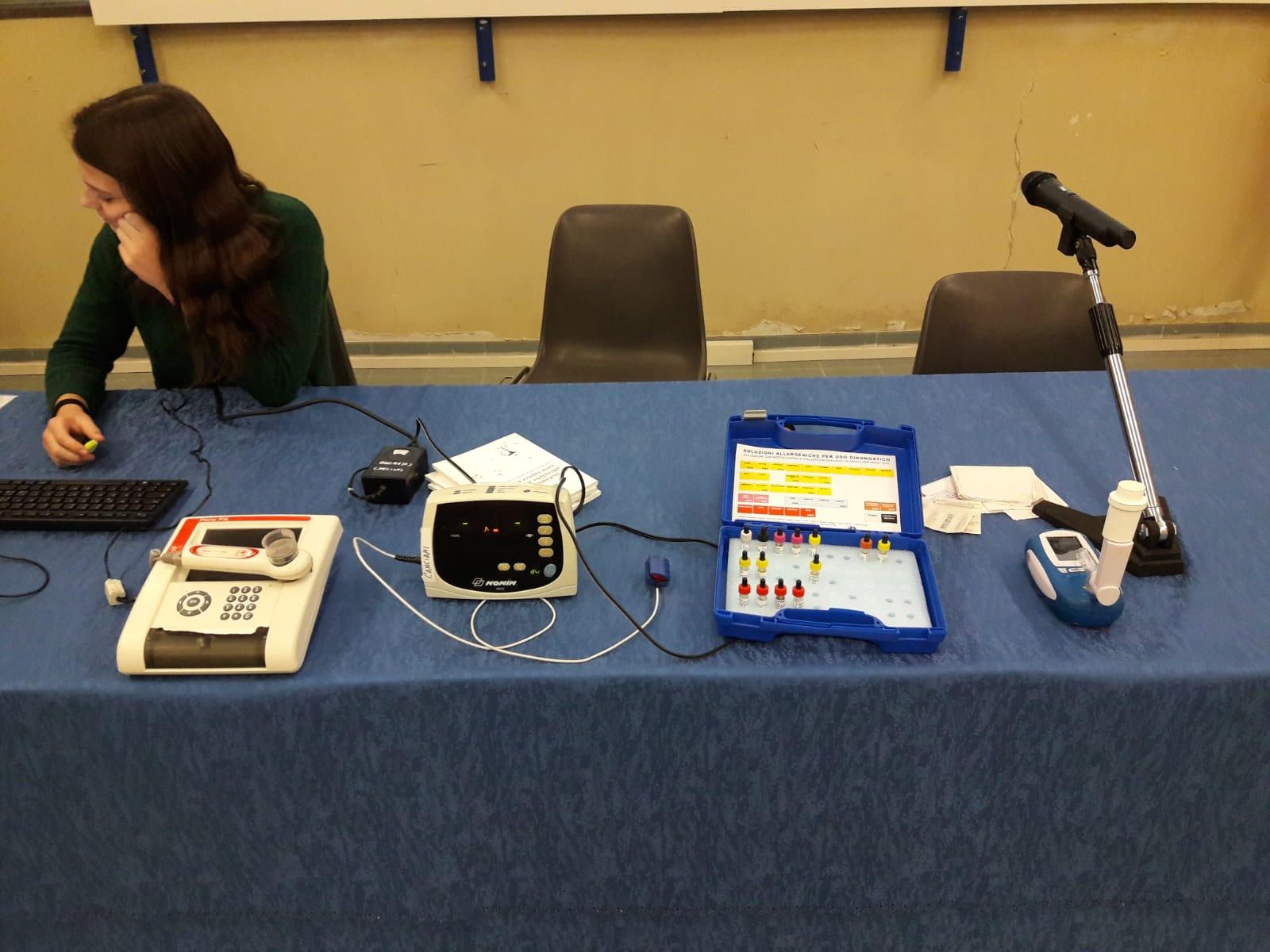 Gli strumenti utilizzati per i vari test
