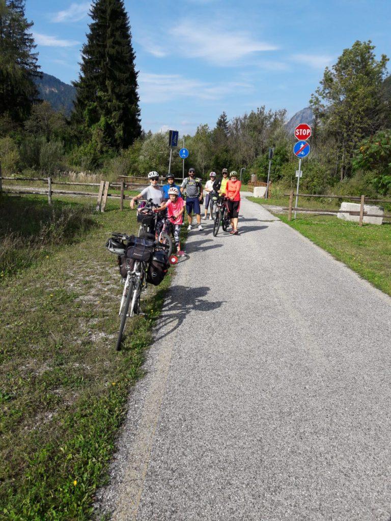 Alla partenza da Pontebba