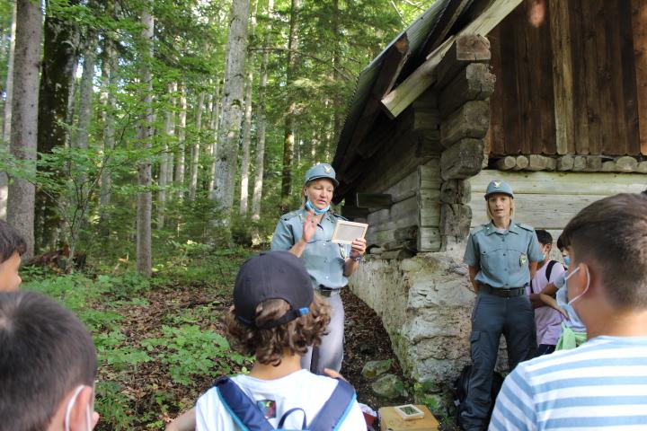 Incontro con le guardie forestali