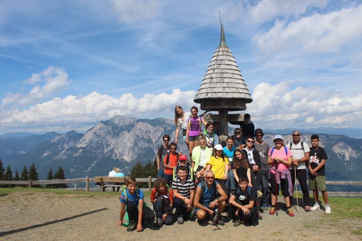 Sulla cima del Monte Forno - all'incrocio dei tre popoli